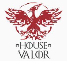 House Valor Mashup Team Logo Kids Tee