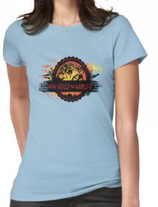 queen of fury Womens Fitted T-Shirt