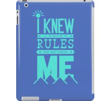 Quotes Typography iPad Case/Skin