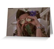Ace Ventura Asparagus Greeting Card