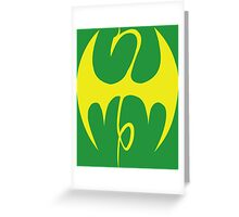 Iron Fist Logo  Greeting Card