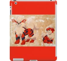 Growlithe Evolution iPad Case/Skin