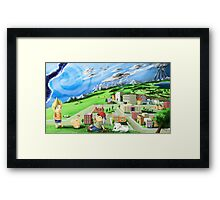 earthbound mother Framed Print