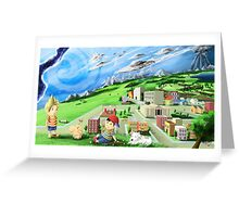 earthbound mother Greeting Card