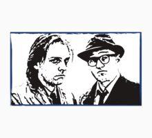 Rik Mayall & Adrian Edmondson by Amba