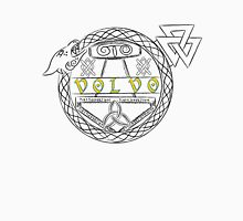 Ancient Volvo Logo with Jörmungandr (color) Classic T-Shirt