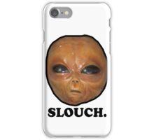 eggface alien - slouch iPhone Case/Skin