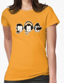 3apes_2 Womens Fitted T-Shirt