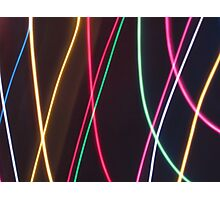 Stringy Lights....but not quite Photographic Print