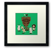 animal song Framed Print