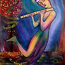 Mystical Flute Player by Rachel Ireland-Meyers