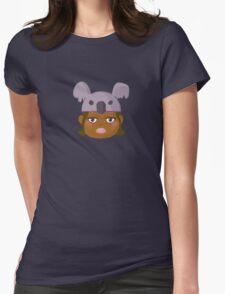 Kids With Animal Beanie - Koala Womens Fitted T-Shirt