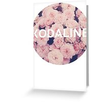 Kodaline Rose Circle Greeting Card