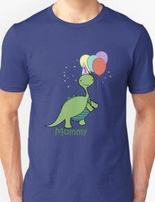 Baby Dinosaur Mommy Unisex T-Shirt