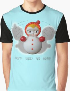 Can't Keep Me Down!  Roly-poly doll as Symbol of Resilience Graphic T-Shirt