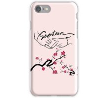 Seventeen Boyswish Cherry Blossom  iPhone Case/Skin