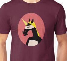 black unicorn Unisex T-Shirt