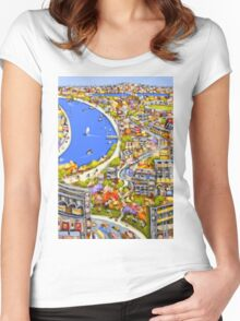 Riverside inspiration Women's Fitted Scoop T-Shirt