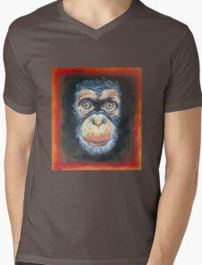 Chimp Chump Mens V-Neck T-Shirt