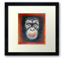 Chimp Chump Framed Print