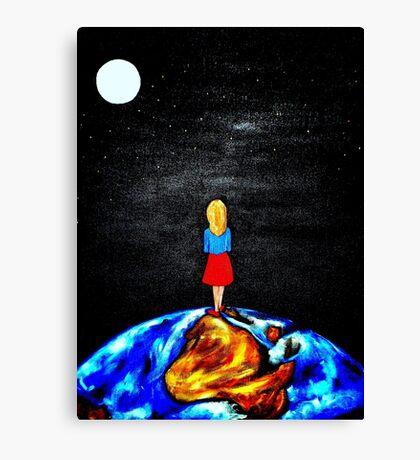 """Hello Luna"" Canvas Print"