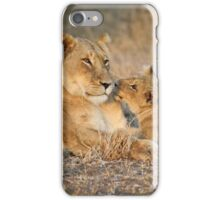 Lioness and Cubs iPhone Case/Skin