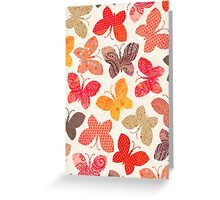 Butterfly Picnic - Card Greeting Card