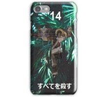 """Kill All"" '14 Japanese Shirt iPhone Case/Skin"