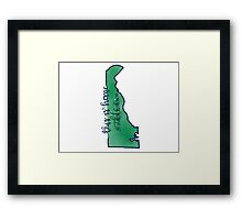 This is home-DTCC (del-tech) Framed Print