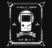 Classic Gamer by Donnie Illustration