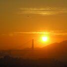 Golden Golden Gate by geot