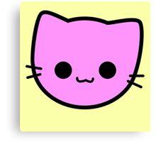 Kawaii Kitty Cats 2048 - tile 2 Canvas Print