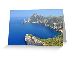 Cliffs of Formentor Greeting Card