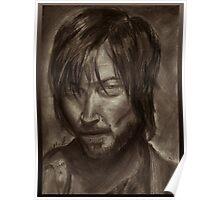 The Walking Dead - Daryl Dixon Portrait(Retro version) Poster
