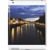 River Liffey Dublin, Ireland  iPad Case/Skin