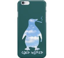 Cold World (Disguise The Limit) iPhone Case/Skin