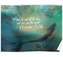 A Mermaid Wish Poster