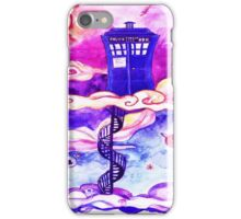 TARDIS COLOUR iPhone Case/Skin