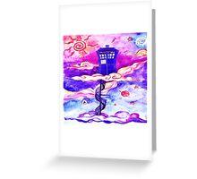 TARDIS COLOUR Greeting Card