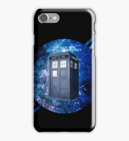 THROUGH TIME AND SPACE 3  iPhone Case/Skin