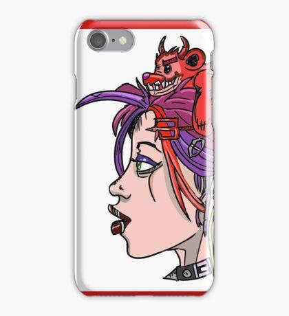 The Troubled Mind iPhone Case/Skin