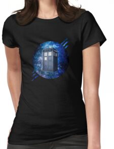 THROUGH TIME AND SPACE 3  Womens Fitted T-Shirt