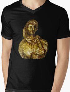 Damsel in Gold Mens V-Neck T-Shirt