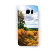 Evening Sun in Countryside UK Samsung Galaxy Case/Skin
