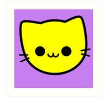 Kawaii Kitty Cats 2048 - tile 4 Art Print