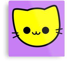 Kawaii Kitty Cats 2048 - tile 4 Metal Print