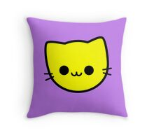 Kawaii Kitty Cats 2048 - tile 4 Throw Pillow