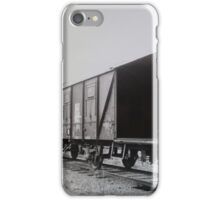 At the tracks iPhone Case/Skin