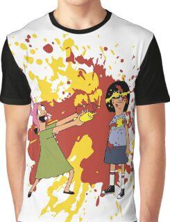 Louise and Tina Sauce Graphic T-Shirt