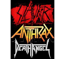 Kar02 SLAYER With ANTHRAX & Death Angel Tour 2016 Photographic Print
